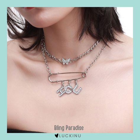 Bling Paradise Choker Necklace $18.99