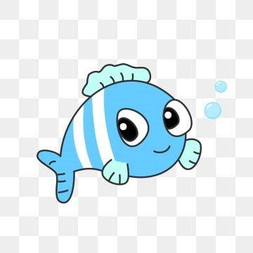 Under The Sea Clipart Animal Undersea Animal Fish Clownfish Cartoon Fish Hand Drawn Animals Bubble Blister Decor In 2021 Cartoon Fish Deep Sea Animals Animated Clipart