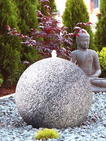 Kugelbrunnen Granit