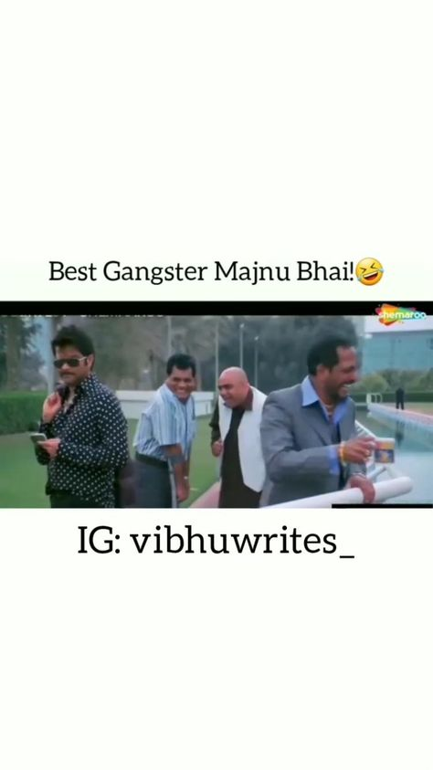 Funny Bollywood movie scene of majnu bhai