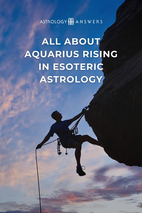 Aquarius is an intriguing sign in Esoteric Astrology, and this is mainly because of its Fixed and intellectual aspect. #esotericastrology #aquarius #aquariusrising