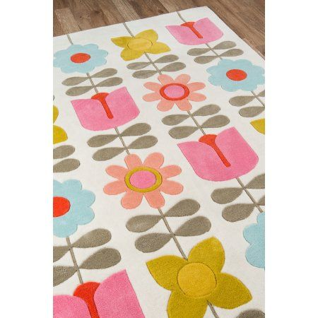 Home Improvement With Images Kids Rugs Flower Rug Floral Rug