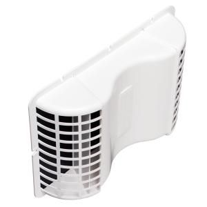 Deflect O 4 In X 4 In Plastic Under Eave Vent Eve 6 The Home Depot Cold Prevention Eave Vent Bathroom Exhaust