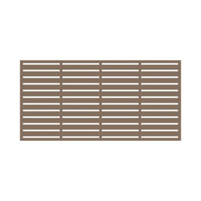 Xpanse 3 Ft X 6 Ft Decorative Screen Panel Boardwalk Saddle 73045666 At Tractor Supply Co In 2020 Decorative Screen Panels Decorative Screens Paneling