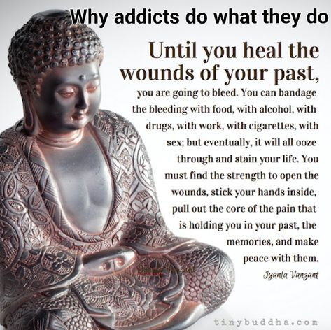 A lot of people can't understand an addicts behavior and I get that because if you haven't been there it is hard to understand. I openly tell my story of being an addict as it is part of who I was…