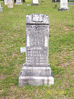 Daniel W  Swindall son of Owin and Eliza Jane Swindall
