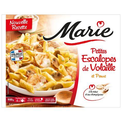 Plats Cuisines Escalopes De Volaille Farfalles Marie Plats