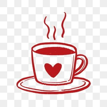 Red Heart Coffee Cup Png Free Material Coffee Cup Clipart Love Heart Png Transparent Clipart Image And Psd File For Free Download Coffee Cartoon Coffee Cup Clipart Coffee Heart