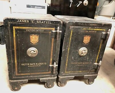 Antique Victor Safe Lock Company Safes Made In Usa Industrial