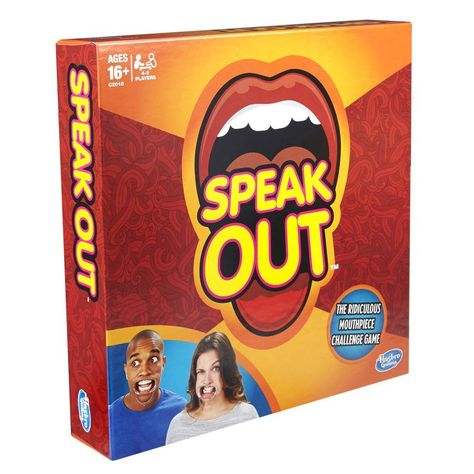 Speak Out Game....can't wait to watch a house full of teenage girls play this game tomorrow.