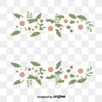 Small Fresh White Flower Border Flower Border Clipart Vector Png White Flowers Png Transparent Clipart Image And Psd File For Free Download Flower Border Png Flower Frame Png Flower Background Images