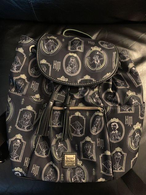 7d3bef4555a Dooney   Bourke Disney Haunted Mansion Portrait Backpack (Broken Strap)   Disneyana  Disney  WaltDisney