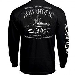 Aquaholic Long Sleeve Tee