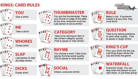 Kings Cup Drinking Games For Parties Drinking Card Games Alcohol Games