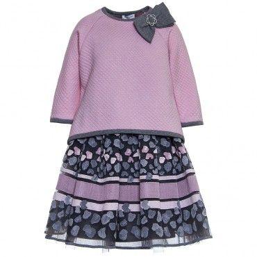 Komplet Monnalisa 000115 Ekskluzywne Ubrania Dla Dzieci Mini Skirts Fashion Women S Top