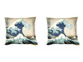 Cuscini D Autore.Fodere Cuscini Kanagawa Cuscini Decorazioni Arredamento