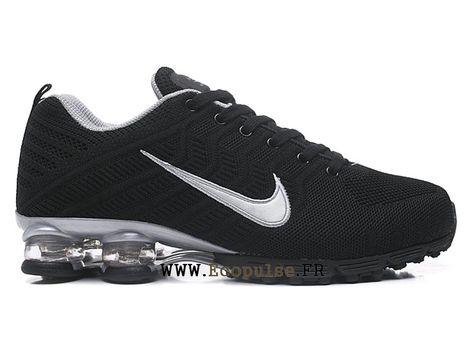 outlet store 03b4e 3c620 Nike Air Shox Coussin Dair 2019 Chaussures Baskets Pas Cher Pour Homme  Panda noir blanc-1903061833-Nike chaussures français boutique Ecopulse.Fr