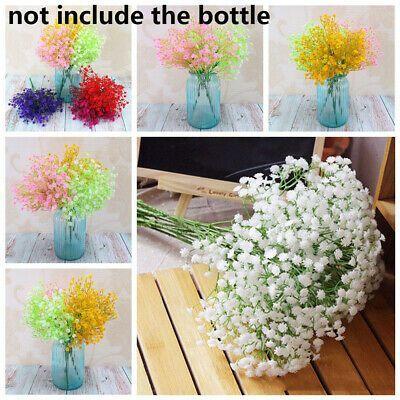 Ebay Link Plant Home Decor Artificial Flower Babies Breath Gypsophila Floral Bouquets Home Diy Wedding Supplies Fake Flower Bouquet Wedding Floral Bouquets
