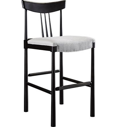 Marvelous Karlis Bar Stool From The Hable For Hickory Chair Alphanode Cool Chair Designs And Ideas Alphanodeonline