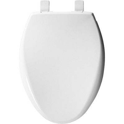 Bemis 1200e4 Affinity Elongated Closed Front Toilet Seat With Soft