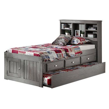 Harriet Bee Guy Twin Mate S Captain S Bed With Drawers And