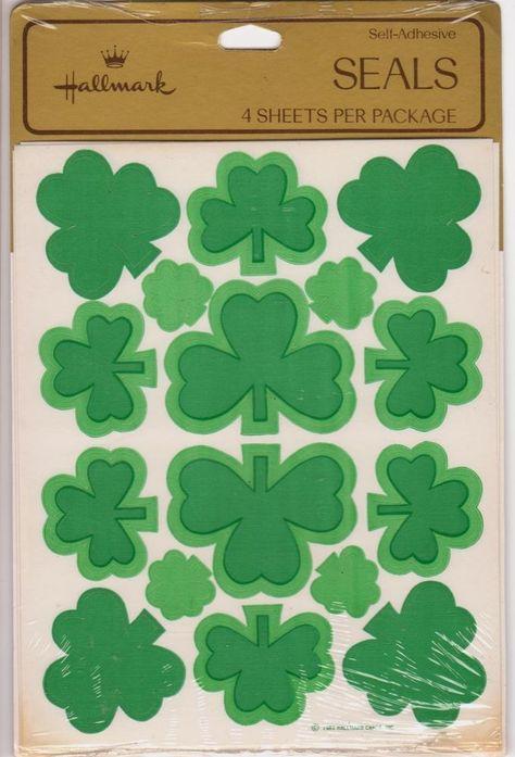 NEW 6 pc  ST PATRICK/'S DAY Irish Green Beer Shamrock Gold JOLEE/'S 3D Stickers