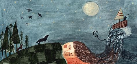 i have lost you to sleep again by Amy Adele, via Flickr