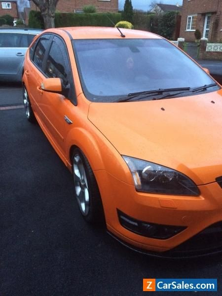 Car For Sale Ford Focus St 2 5 Orange