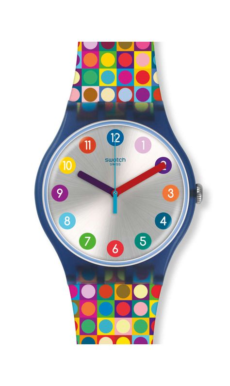 Reloj Swatch Mujer Rounds and Sqaures