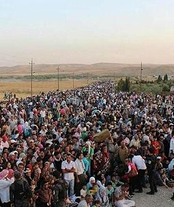 Islamist Rebels Force 20,000 Syrian Kurds to Flee to Iraq (201) Al-Qaida linked rebels, possibly encouraged by Turkey, have turned their fury on Syria's Kurdish population.