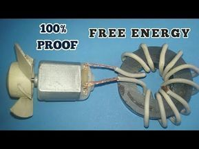 Free Energy Device With Magnets Used Dc Motor Fan 100 Free Energy Real Youtube Cihaz Elektronik Devre Gercekler