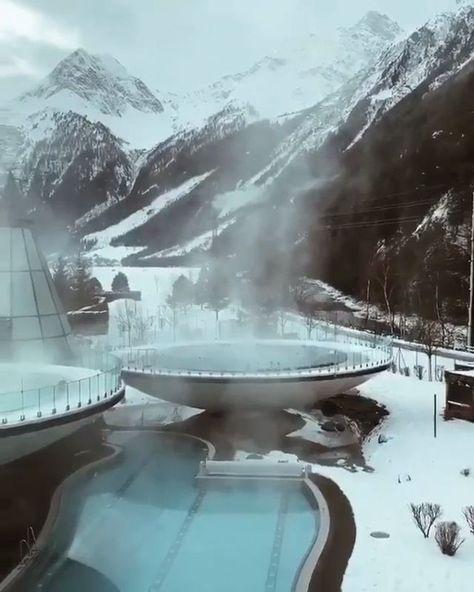 Aqua Dome Hotel, Längenfeld 🇦🇹 #travelDestinationsasia love this beautiful spot
