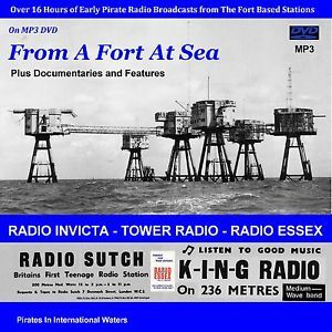 Pirate Radio - 'From A Fort At Sea' (DVD MP3) The Early Fort