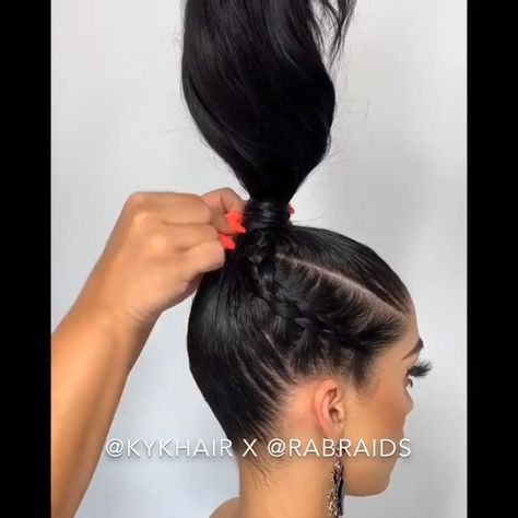 Do you wanna learn how to braid your own hair? Well, just visit our web site to seeing more amazing video tutorials! #braidstyles #hairtutorial #hairvideos #braidedhair #dutchbraids #frenchbraid #videotutorial #longhairstyles #Braidedstyles