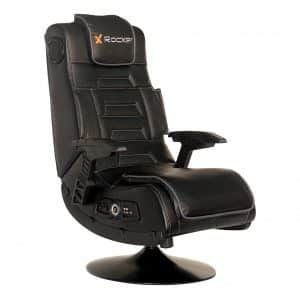 X Rocker Pro Series 2 1 Black Leather Video Gaming Chair In 2020 Gaming Chair Chair Blue Chairs Living Room