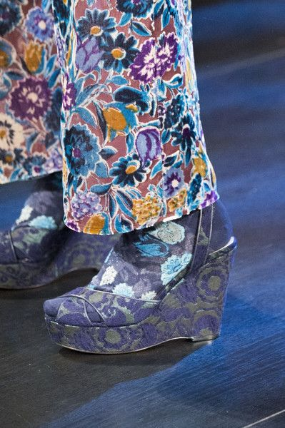 Anna Sui, Fall 2017 - The Best Shoes on the New York Runway - Photos