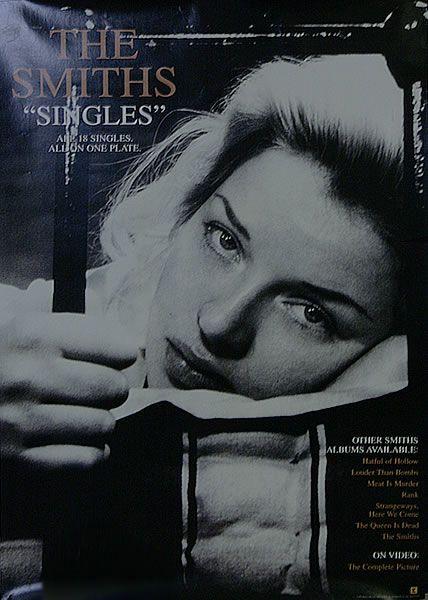 The Smiths 1984 Montmartre Paris 24x36 Poster Print 80s Indie Alt Rock Music