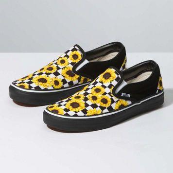 chaussure vans tournesol