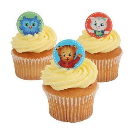 Free Shipping Buy 24 Daniel Tiger Best Buds Cupcake Cake Rings Birthday Party Fav Daniel Tiger Birthday Party Daniel Tiger Birthday Daniel Tiger Birthday Cake