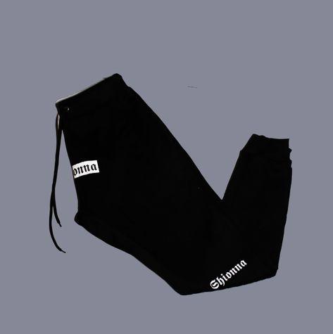 Shionna Unisex Joggers - Black / M