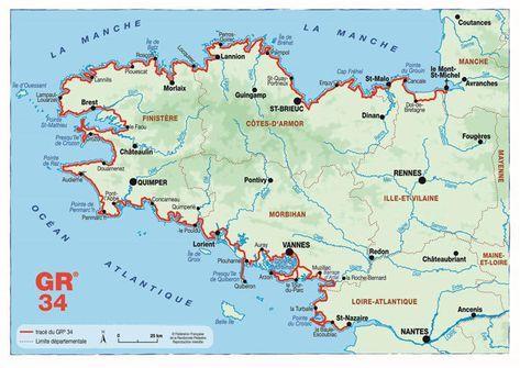 8 Vues Epoustouflantes Sur Le Gr 34 Bretagne Bretagne France Et