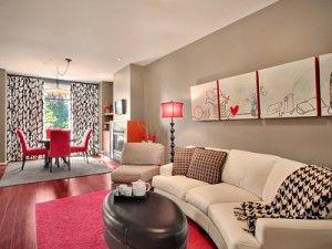 Colori pareti pitturare interni salotto salone sala da pranzo ...