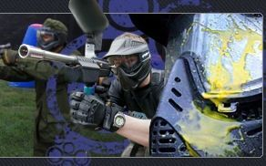 Amelia Paintball Park in Chesterfield, VA. This looks fun for a bachelor party!