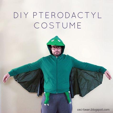 Last minute costume: Dinosaurs