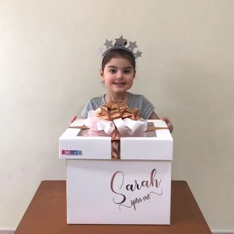 Contact us for our mini and jumbo surprise balloon box gifts