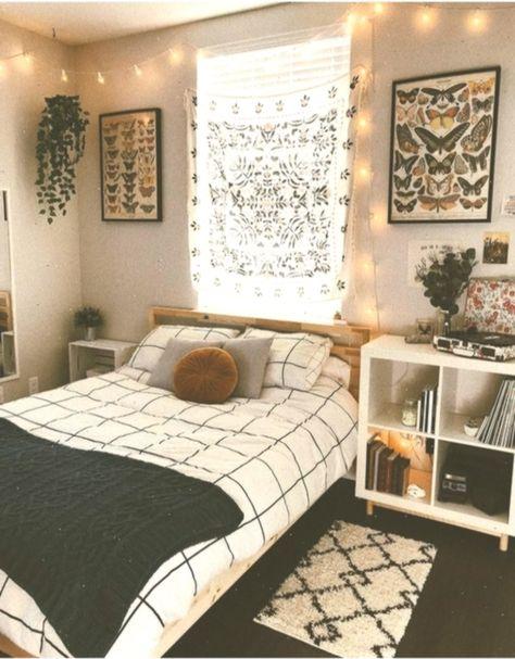 33 Dekor Ideen Fur Cosy Dorm Room Kleines Schlafzimmer
