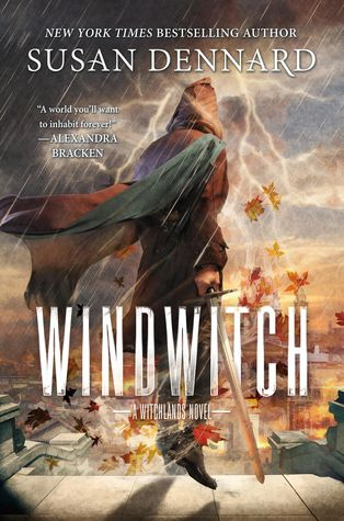 """Windwitch (The Witchlands #2) by Susan Dennard.  On a continent ruled by three empires, some are born with a """"witchery,"""" a magical skill that sets them apart from others.  Windwitch continues the tale begun in Truthwitch, with a focus on Merik--cunning privateer, prince, windwitch, and reader favorite. Expected Publication Date:  1/3/2017 Genre:  Young Adult, Fantasy"""