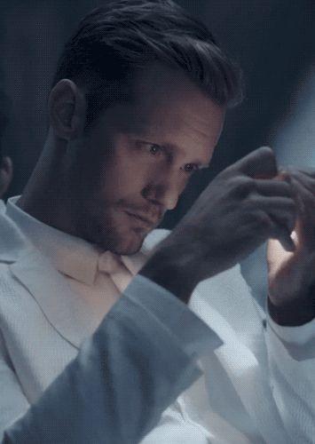 Alexander Skarsgård for Calvin Klein Provocations