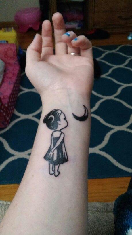 Little Girl Tattoos Arts Tattoos Tattoodesigns Inktattoos Womentattoos Tribaltattoos Little Tattoo For Girls Meaningful Tattoos For Women Moon Tattoo