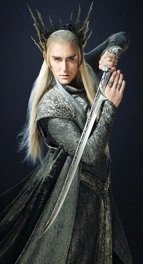 Lee Pace in The Hobbit. Everytime, I just want pie. @Christina  Dezuanni Woodruff @Jordan Bromley Davis